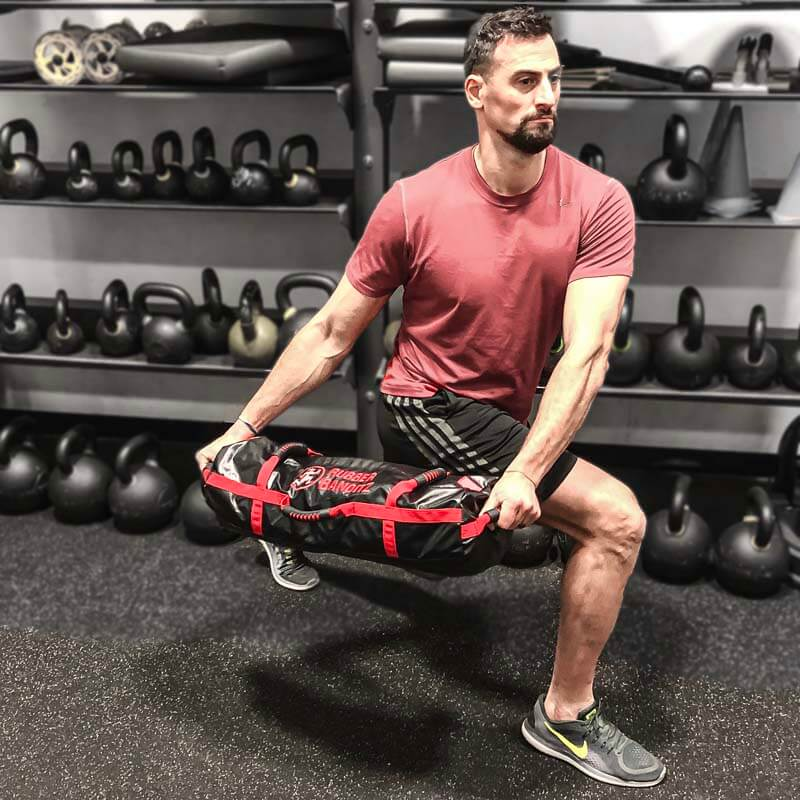 Lunge with Workout Sandbag