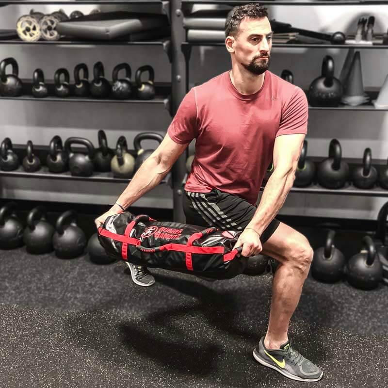Lunge with Workout Sandbag