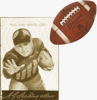 The First Football