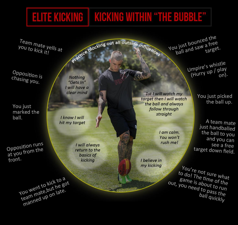 Elite Kicking in Bubble