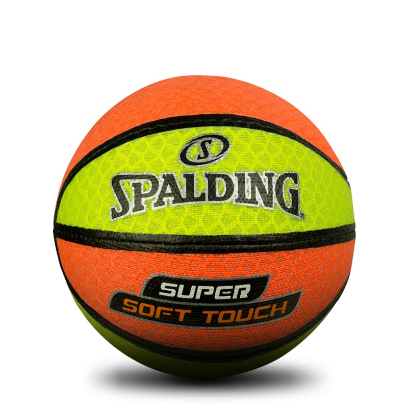 Super Soft Touch Basketball - Orange/Yellow
