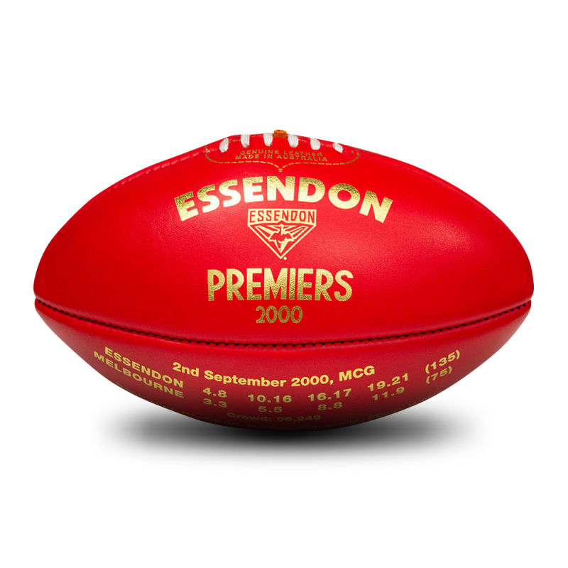 2000 Premiers Ball - Essendon Bombers