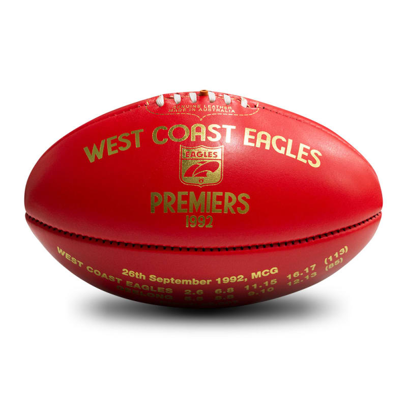 1992 Premiers Ball - West Coast Eagles