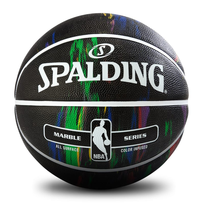 NBA Marble Series - Rainbow Black - Size 7
