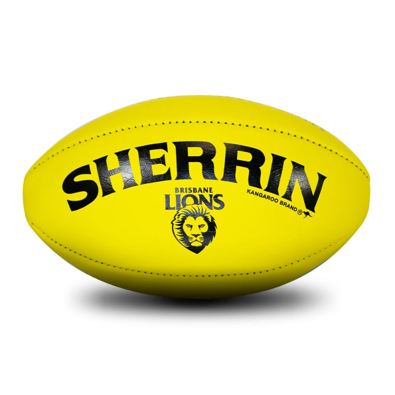 Brisbane Game Ball - Yellow