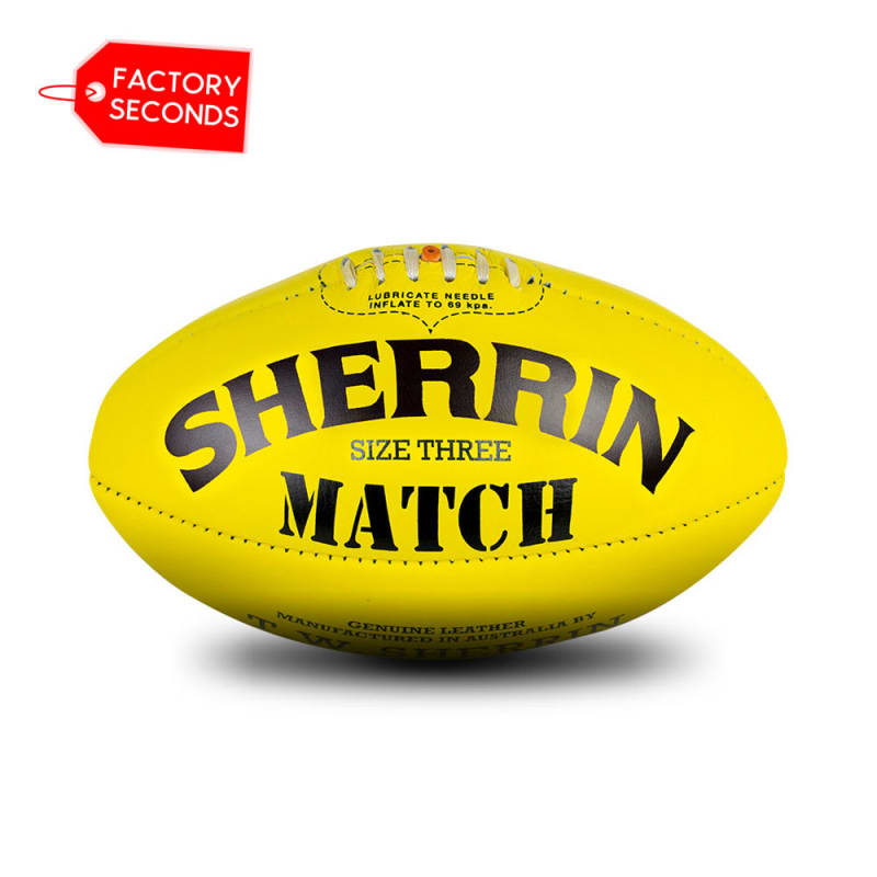 Match Seconds - Poly Yellow Size 3