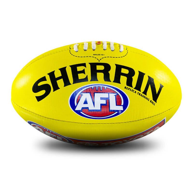AFL Replica Training Ball - Yellow - Size 5