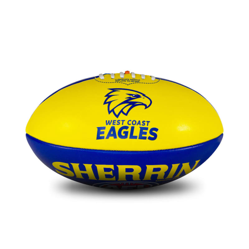 Personalised West Coast Eagles Ball - Size 3