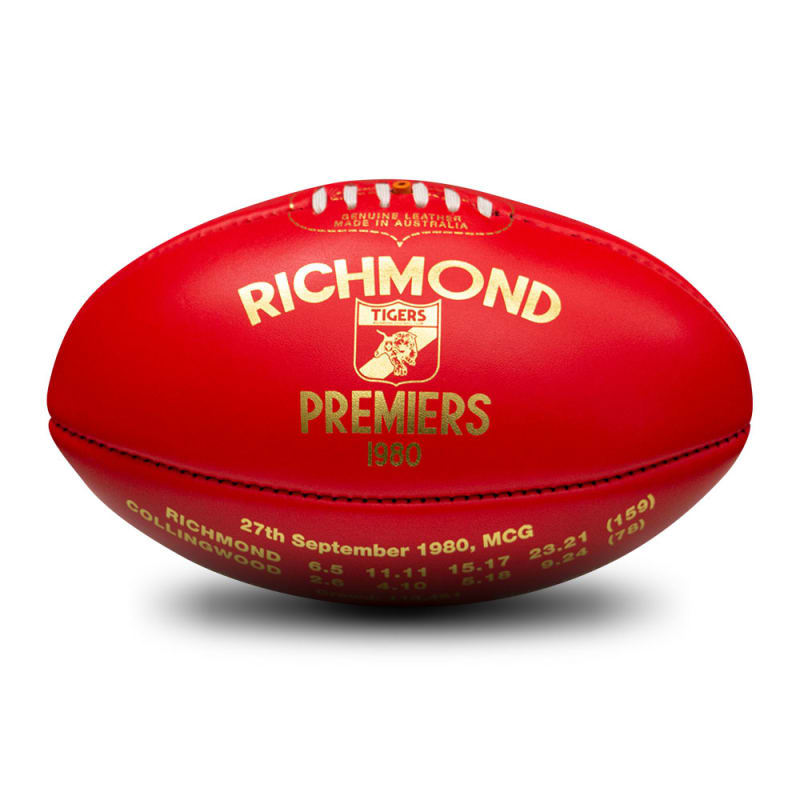 1980 Premiers Ball - Richmond Tigers