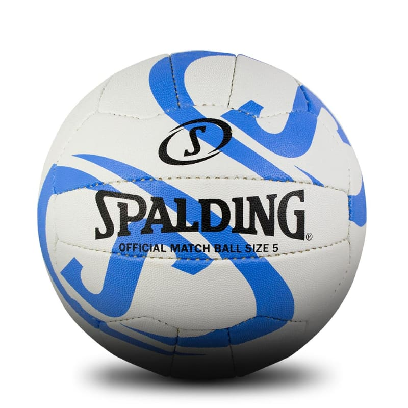 Fast S Match Netball - White/Blue
