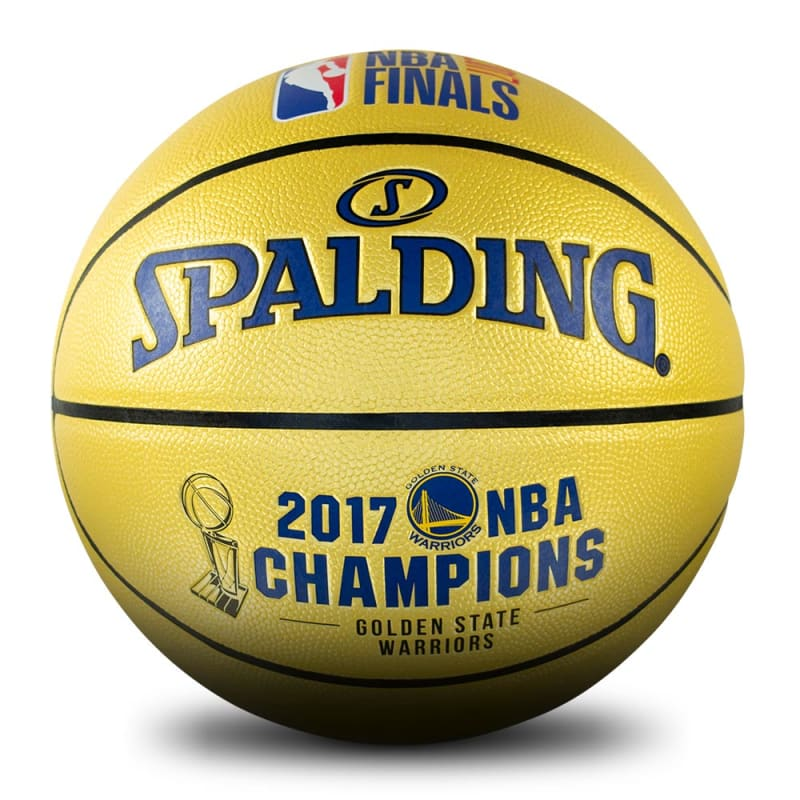 Golden State Warriors 2017 NBA Champions Ball