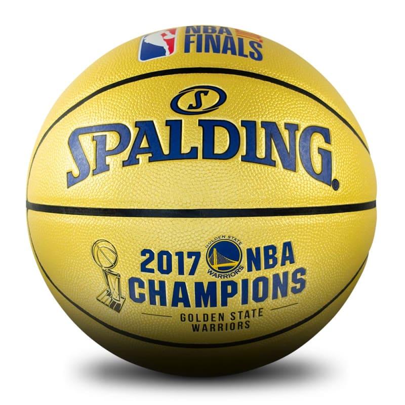 Golden State Warriors 2017 NBA Champions Ball
