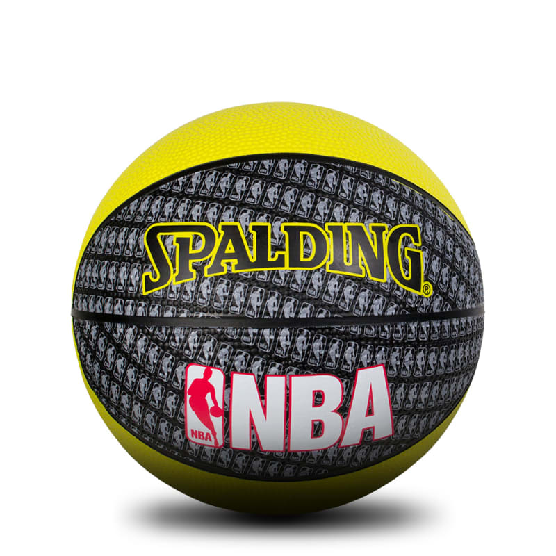 NBA MINI - Yellow/Black - Size 3