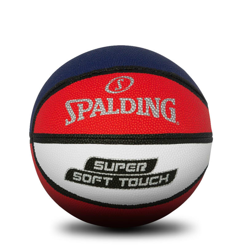 Super Soft Basketball - Red/White/Blue