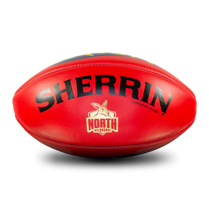North Melbourne Game Ball - Red