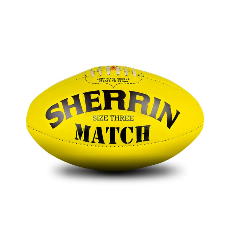 Match Game Ball - Yellow - Size 3