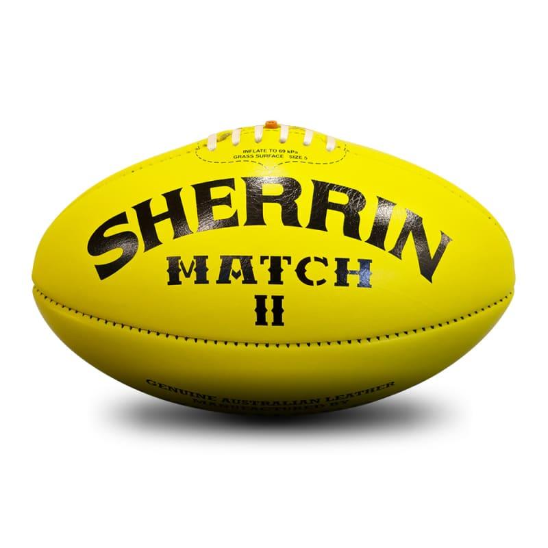 Match Game Ball - Yellow - Size 5