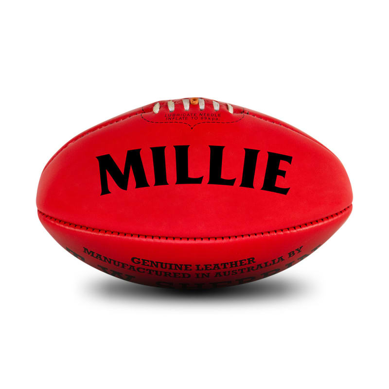 Personalised Sherrin KB Red - Size 4