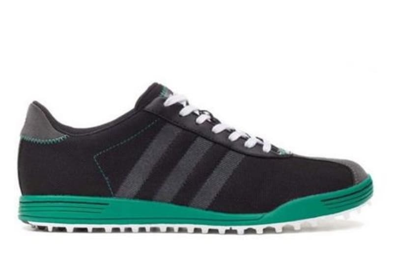 new styles f9ff6 a81ee Adidas Adicross II WD Golf Shoes - Black  Green ...