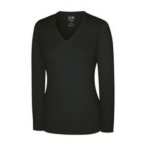 Adidas Womens Fashion Performance V Neck Sweater