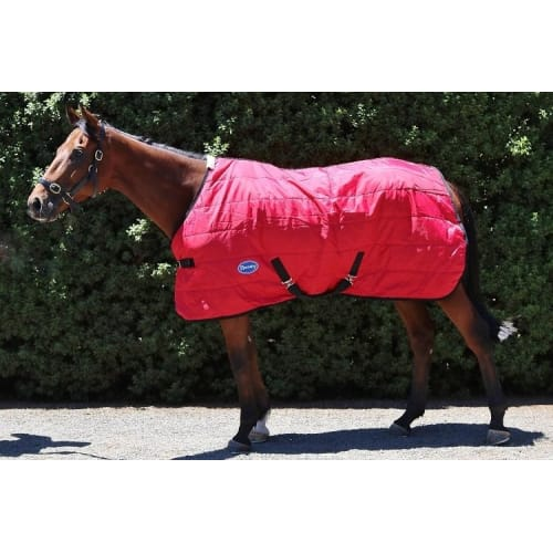 Barnsby 210D Equestrian Horse Stable Rug / Blanket - Standard Neck Red