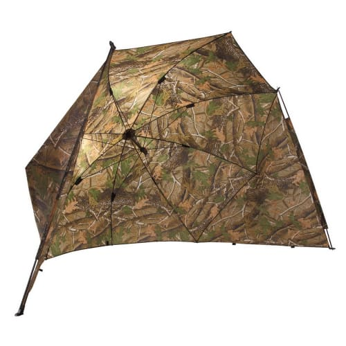 "Ultra 50"" Camo Carp Fishing Shelter With Side"