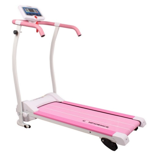 Confidence Power Trac Pro 735W Electric Motorised Treadmill Pink