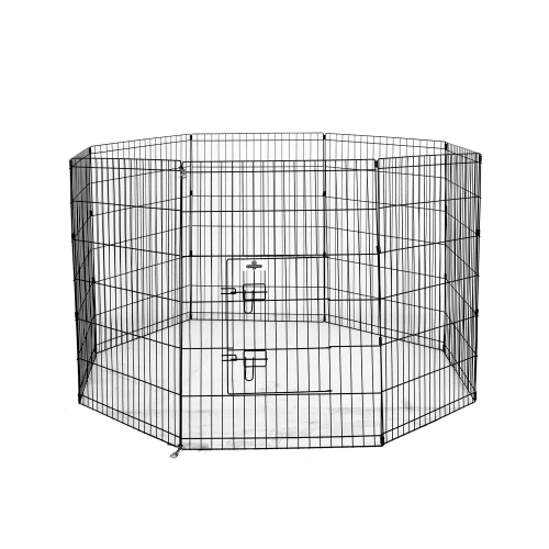 Confidence Pet Metal Dog Playpen - Large