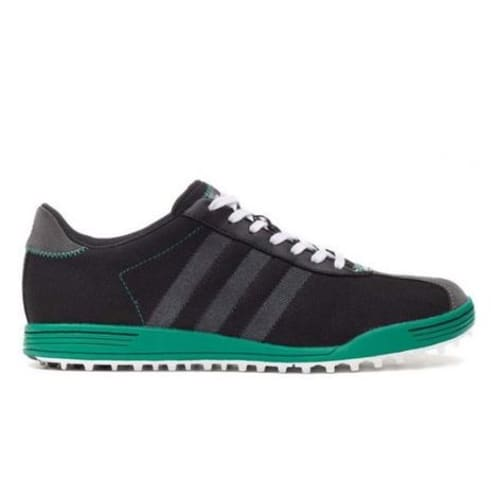 Adidas Adicross II WD Golf Shoes - Black / Green - Wide Fit