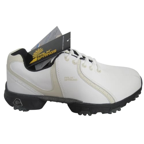 Palm Springs Lady Golf Shoes White/Tan