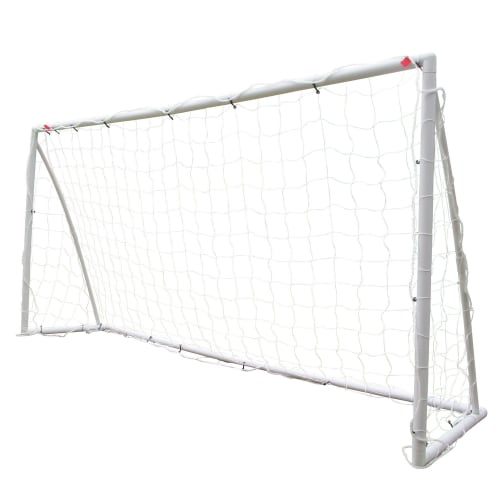 Woodworm 8' x 4' Portable Plastic Football Goal Posts