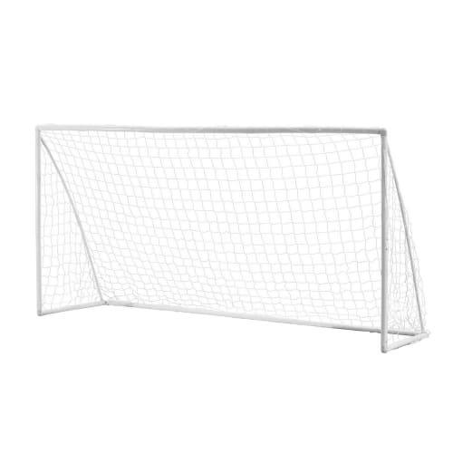 OPEN BOX Woodworm 12' x 6' Portable Plastic Soccer Goal
