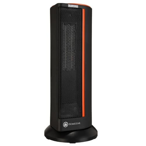 Homegear Electronic Oscillating Tower Heater with Remote Control and Digital Control Panel