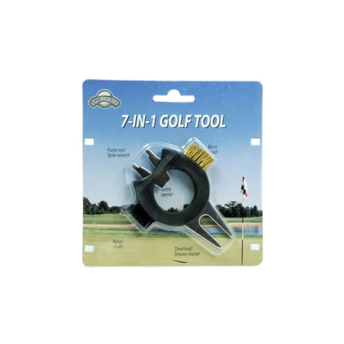 J & M On Course 7-in-1 Golf Divot Tool