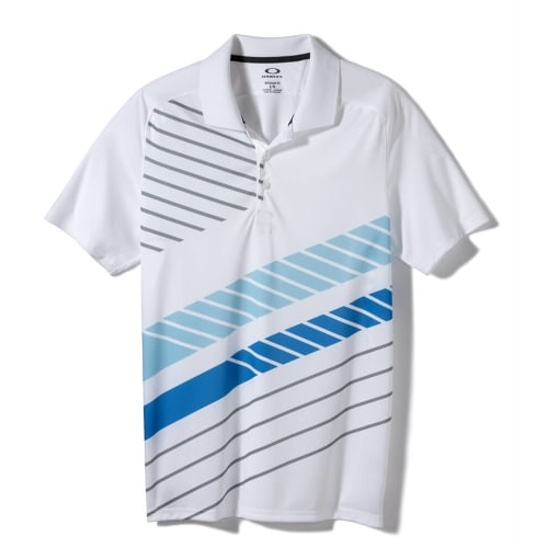 Oakley Cross Cut Polo - White