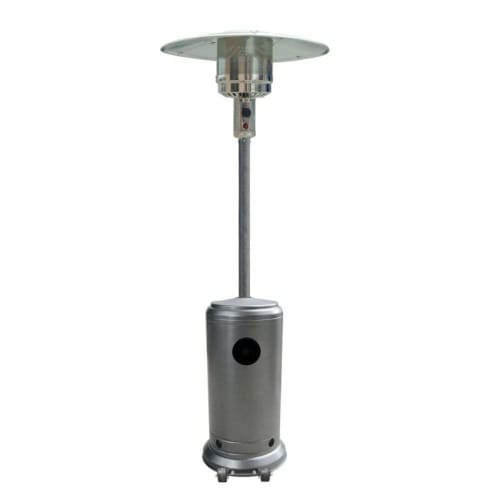 Palm Springs Hammered Steel 14kw Gas Patio Heater
