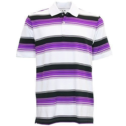 Adidas Puremotion Merch Stripe Polo - Purple
