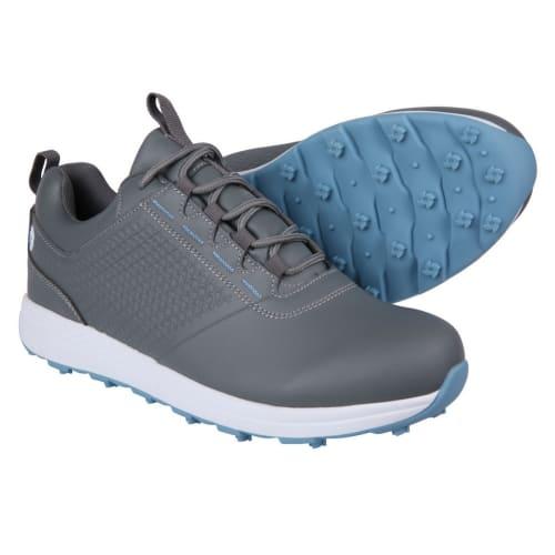 Ram Golf Accubar Ladies Golf Shoes, Grey/Blue