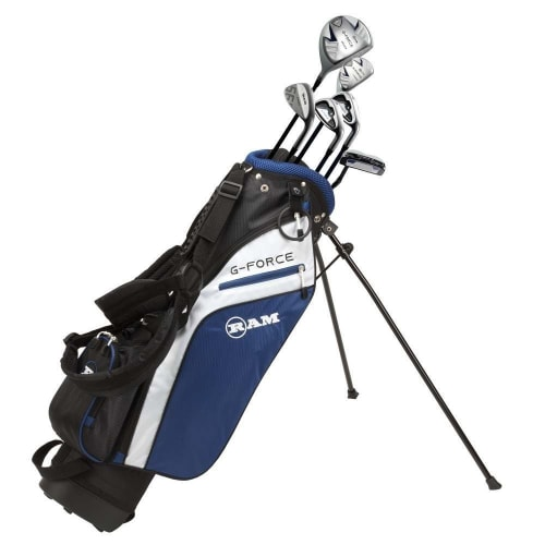 Ram Golf Junior G-Force Boys Golf Clubs Set with Bag Age 7-9