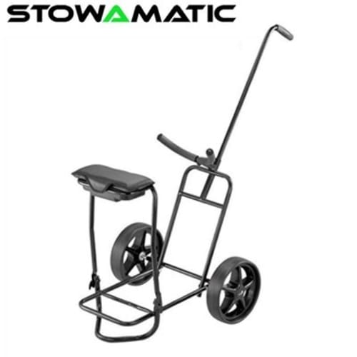 Stowamatic Glider Golf Trolley with Seat