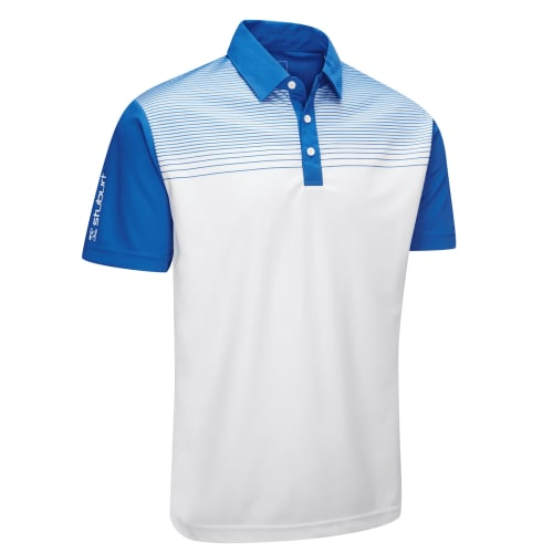 Stuburt Endurance Faded Stripe Polo Shirt