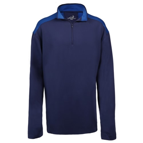 Woodworm Golf Mens Performance Pullover / Sweater / Jumper, Navy