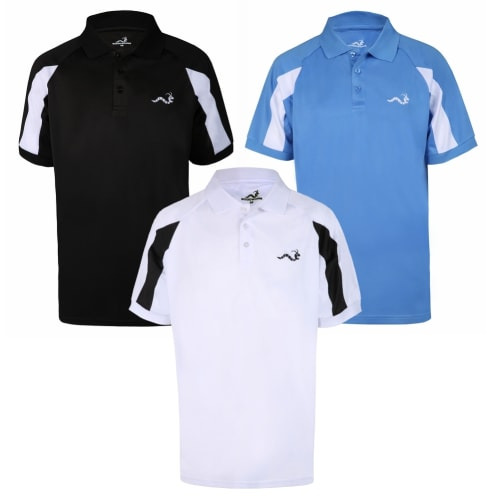 Woodworm Golf Tour Response Polo Shirts, 3 Pack