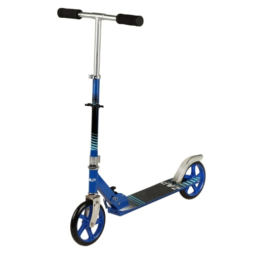 OPEN BOX ZAAP Pro X1 Folding Kick Scooter with Adjustable Handlebar - Blue
