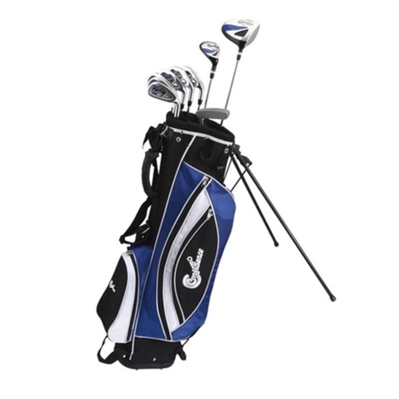 Confidence Golf Mens Power Club Set and Stand Bag