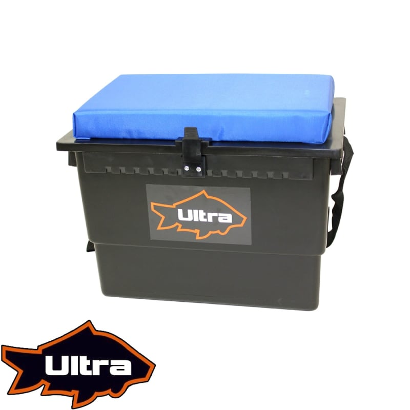Ultra Fishing Cushioned Seat Box