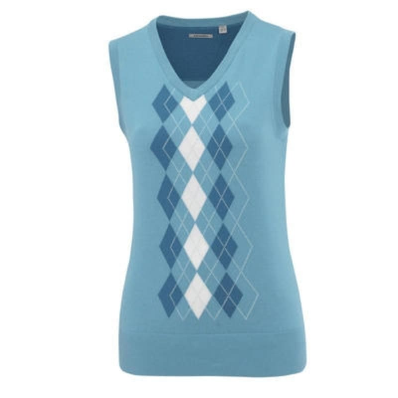 Ashworth Ladies Argyll Golf Vest