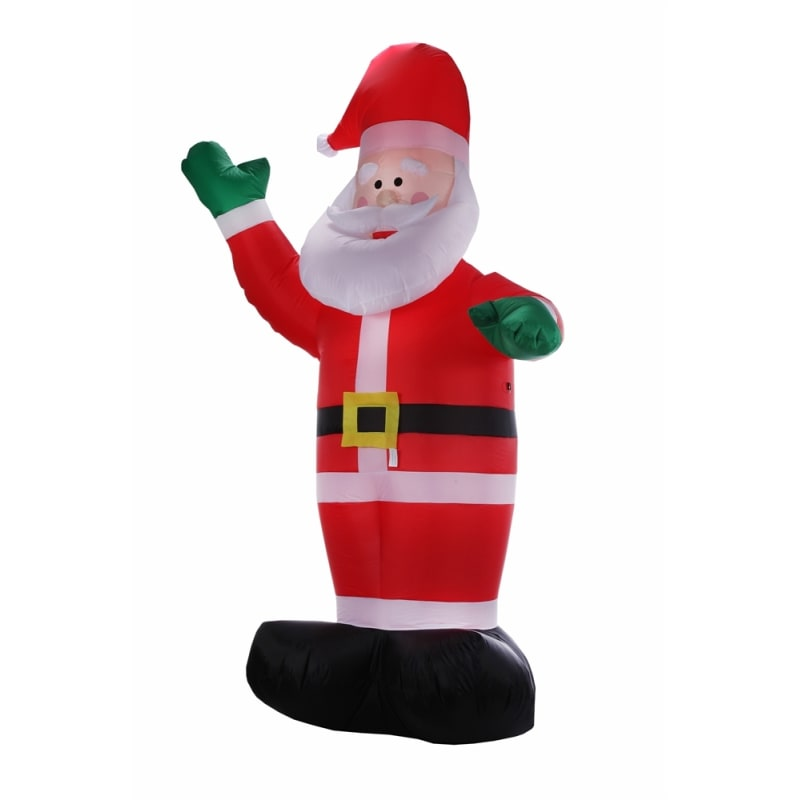 Homegear Christmas 6ft Inflatable Santa For Indoor/Outdoor Use with LED Lights #2