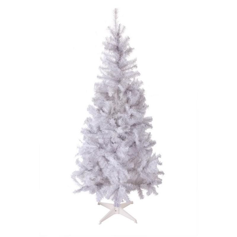 OPEN BOX Homegear 6ft White Artificial Xmas Tree #1