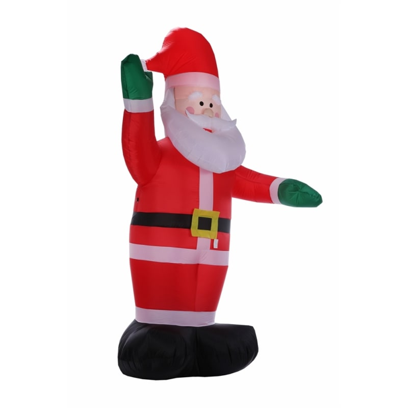 Homegear Christmas 6ft Inflatable Santa For Indoor/Outdoor Use with LED Lights #3